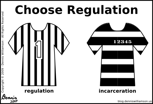 referee shirt vs. prison shirt